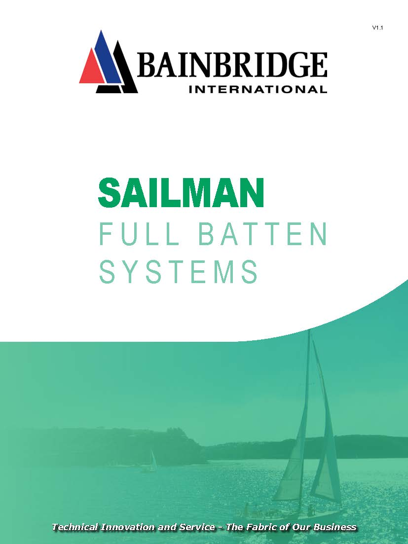 Front Cover of Sailman Update V1.1 Catalogue