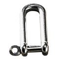 Long D Ring Shackle - Stainless Steel