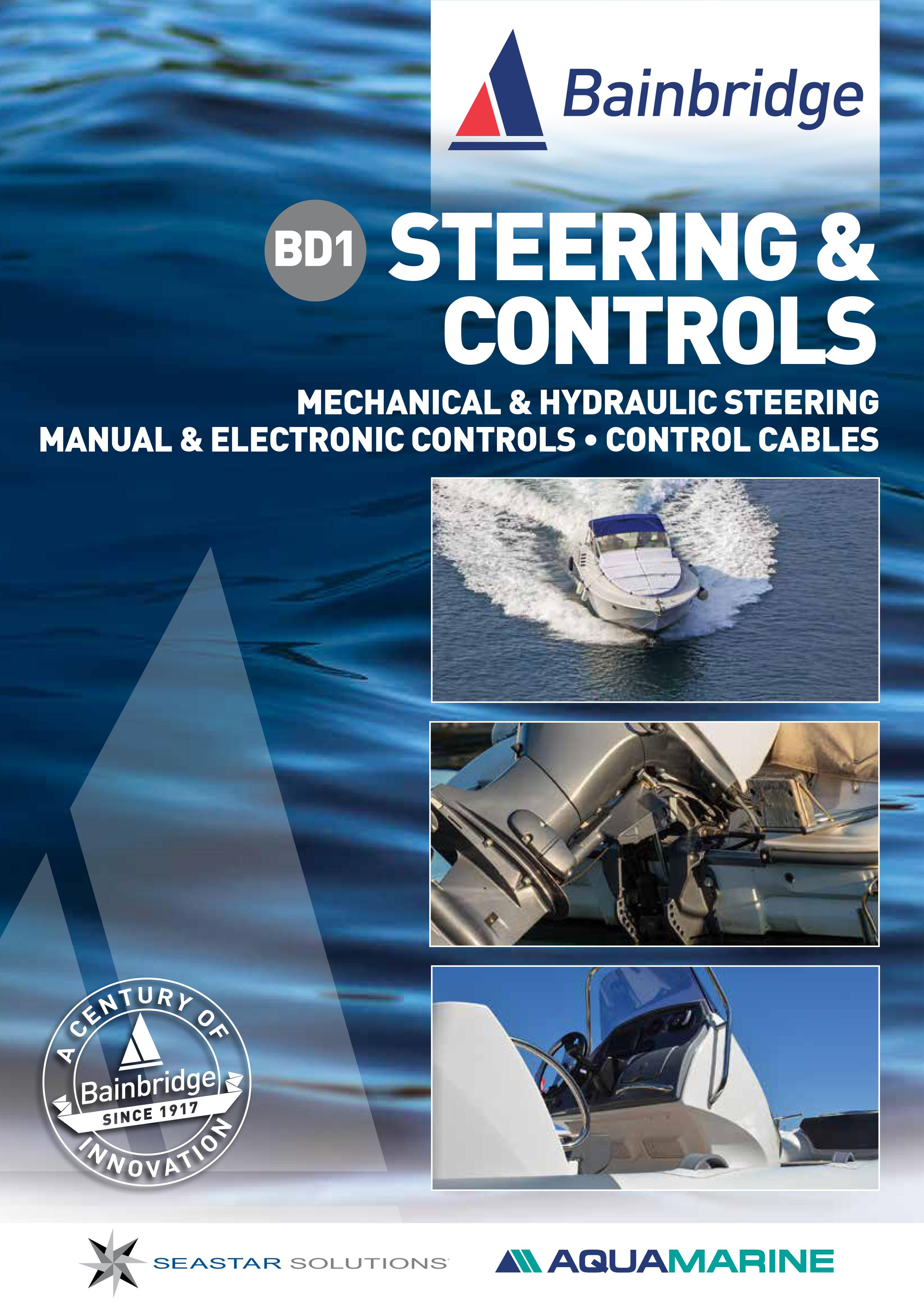 Front Cover of Steering & Controls Catalogu